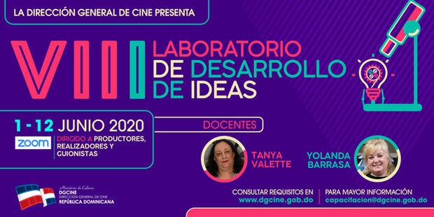 Invitación VIII Laboratorio de Desarrollo de Ideas.