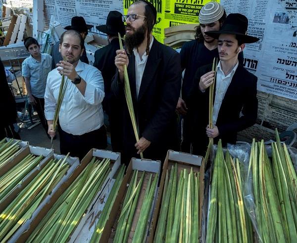 Todo a punto en Israel para celebrar Sucot, la fiesta judía de la alegría