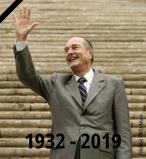 Presidente Jacques Chirac.