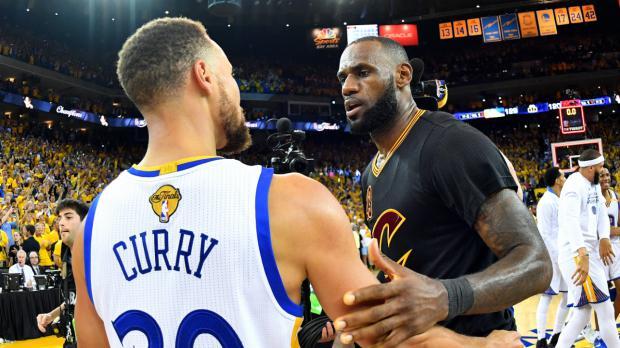 James y Curry en plan activistas durante el Juego de las Estrellas NBA