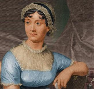 Retrato de Jane Austen.
