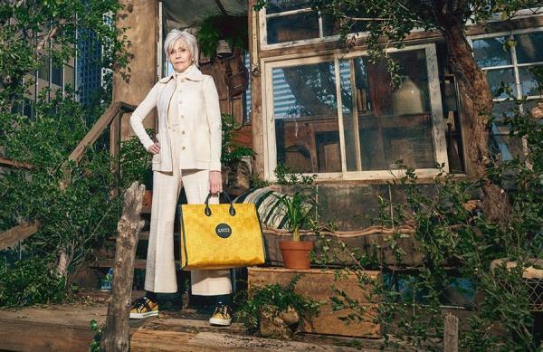 Jane Fonda, nuevo fichaje de Gucci para una colección de moda sostenible