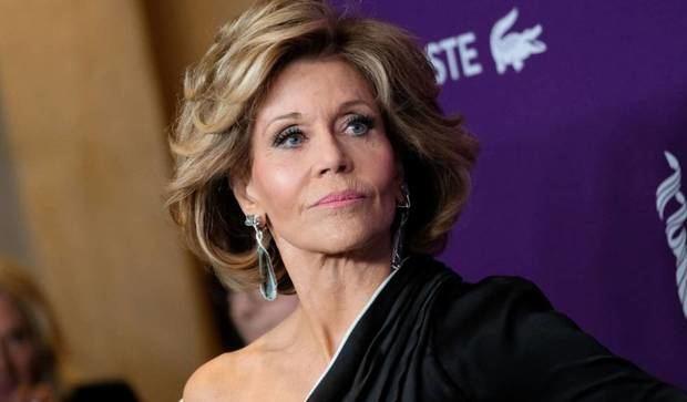 La actriz estadunidense Jane Fonda.