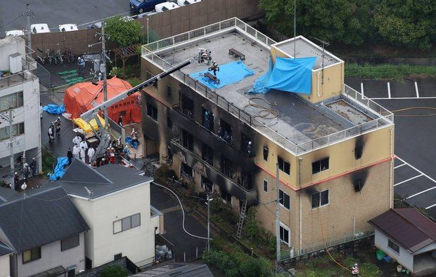 La mayoría de las víctimas del incendio en Japón perecieron en el acceso a la azotea.