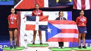 Esmerlyn Castro, la reina del tenis de mesa del Caribe.