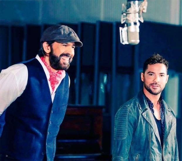 David Bisbal y Juan Luis Guerra versionan juntos a Marco Antonio Solís