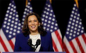 Kamala Harris,  aspirante a vicepresidenta de los Estados Unidos.