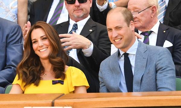 Los duques de Cambridge asisten a la final de Wimbledon