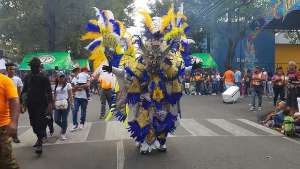 "La Vega se viste de colores con primer desfile del ""Carnaval Vegano 2020"""