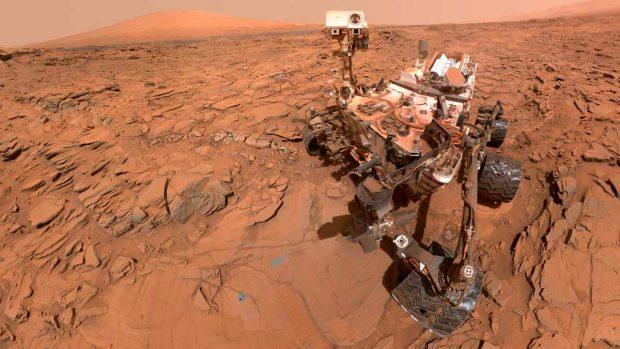 Curiosity descubre nuevas posibles huellas de vida en Marte