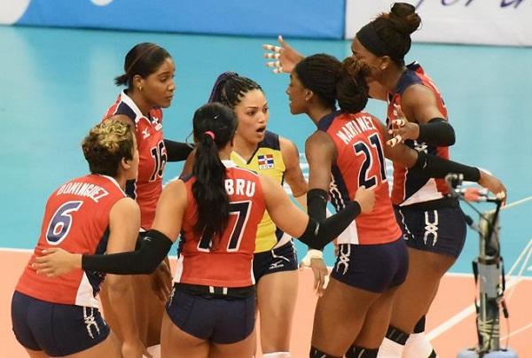 Sexteto RD avanza a semifinal del voleibol femenino en Barranquilla