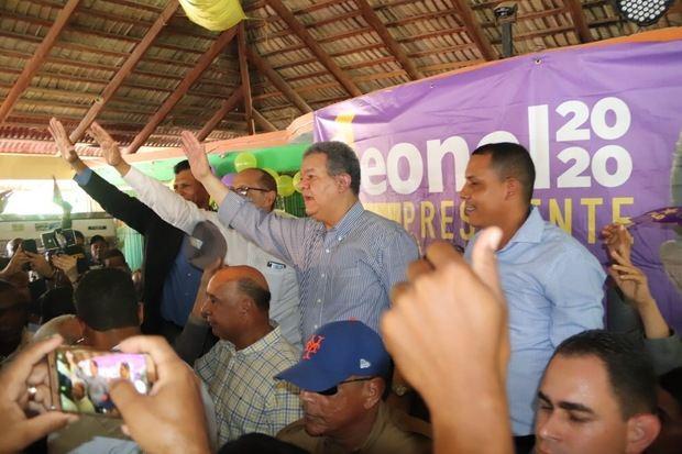 Leonel afirma La Fuerza del Pueblo se apoya en valores y principios