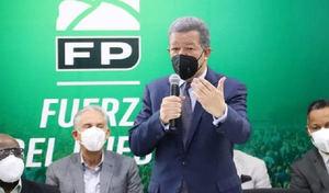 Líder de la Fuerza del Pueblo, Leonel Fernández.