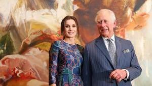 La Reina Letizia y Carlos de Inglaterra inauguran la mayor muestra de Sorolla en la National Gallery