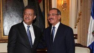 Leonel Fernández y Danilo Medina.