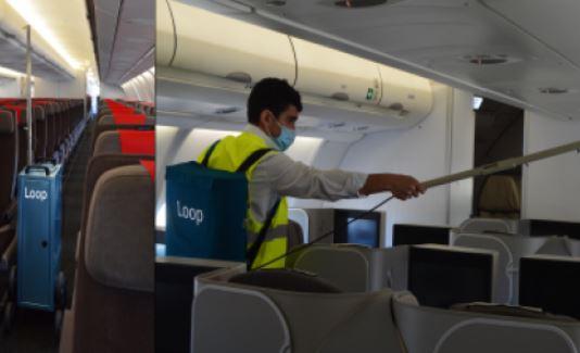 la startup española, Loop Disinfection, ha diseñado unos equipos más ágiles y sostenibles que permiten una mejor higienización de la cabina.