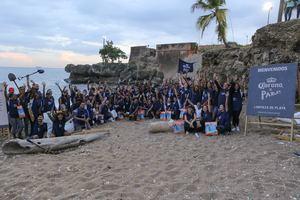Las jornadas de limpieza de playas son realizadas por Cerveza Corona desde el 2018 como una forma de concientizar a la población.