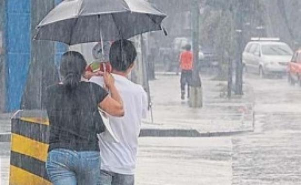 Condiciones de humedad anuncian aguaceros dispersos