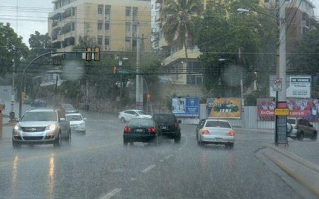 Clima lluvioso.