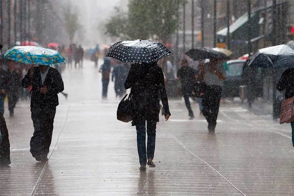 Lluvias en algunas provincias