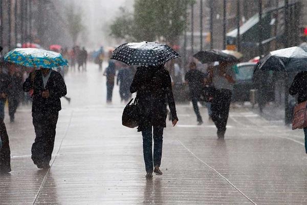 Sistema frontal provocará lluvias en varias provincias