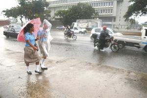 Lluvias escasas en RD