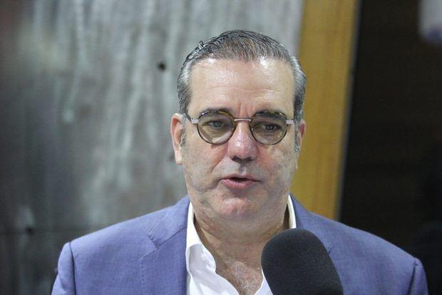Candidato presidencial del PRM, Luis Abinader.