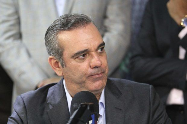 Candidato perremeísta a la Presidencia de la República, Luis Abinader.