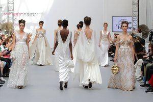Diseños de vestidos de novia.