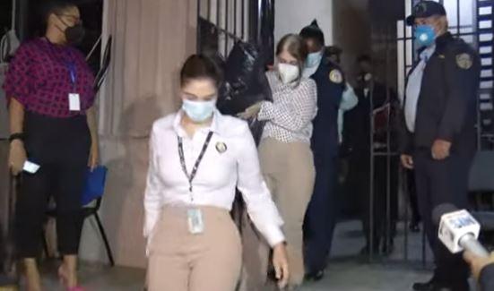 Magalys Medina y otros dos imputados son enviados a arresto domiciliario