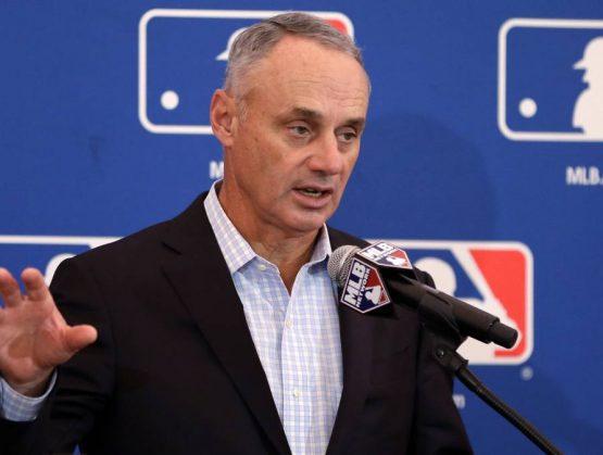 Comisionado de la MLB, Rob Manfred.