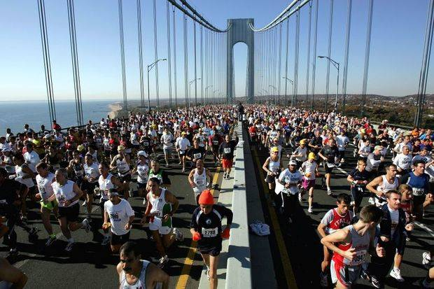 Maratón de Nueva York.-