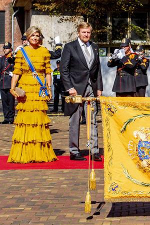 Los reyes presidieron la ceremonia de apertura del parlamento holandés de La Haya.