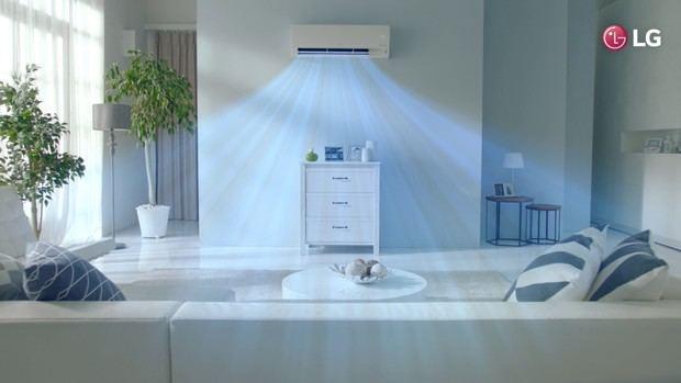 LG ofrece aires acondicionados con tecnología para combatir el calor