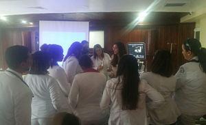 Profesionales de la salud del hospital docente universitario doctor Francisco E. Moscoso Puello fueron capacitados.
