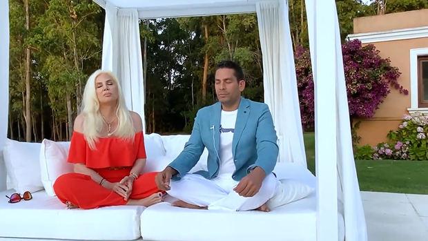 Susana Giménez e Ismael Cala lideran meditación por Australia