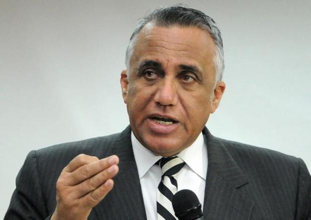 Presidente de la Organización Deportiva Centroamericana y del Caribe, Odecabe, Luis Mejía Oviedo.