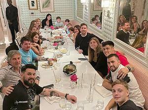 Lionel Messi vacaciona con su familia en el exclusivo Casa de Campo