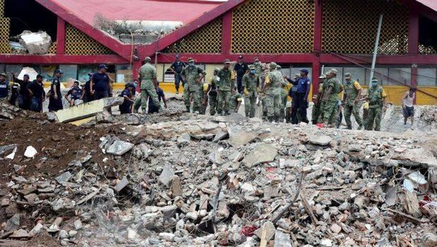 Al menos 61 fallecidos en México por uno de los terremotos más fuertes en décadas