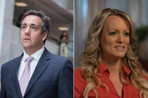 El abogado Michael Cohen tendría material sobre el supuesto pago a la actriz porno