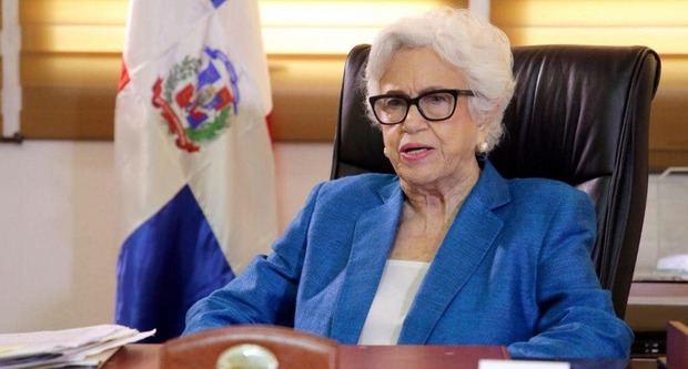 Ortiz Bosch reprocha sus declaraciones a la gobernadora de Montecristi