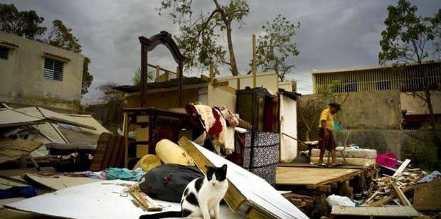 Efectos de desastres naturales.
