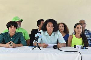 Sheila Cáceres, vocera de la amplia coalición de entidades juveniles, estudiantiles, ambientalistas, climáticas y docentes, anunció el apoyo a la Movilización Mundial Por el Clima que se celebrará el viernes, 20 de septiembre.