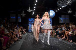 Modelos de la diseñadora Giannina Azar.