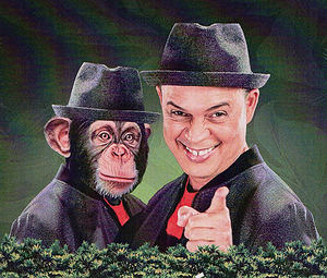 Alexis Valdés y su monólogo 'Tu Primo el Mono'.