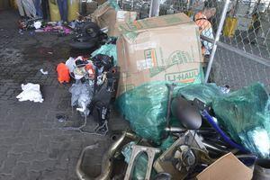 Aduanas descubre motocicletas robadas y no declaradas
