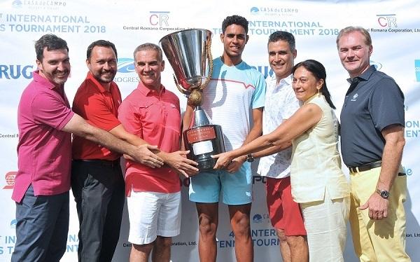 Olivares y Quezada, campeones en el XLI Torneo de Tenis