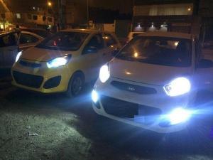 Vehículos con luces Led