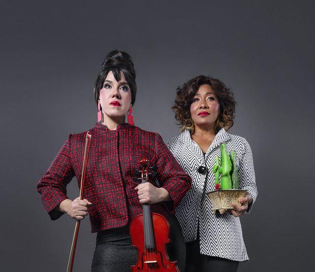 María Castillo y Xiomara Rodríguez se reencuentran en una nueva puesta teatral.