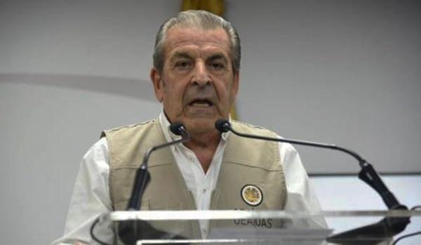 Jefe de la Misión de Observación Electoral de la OEA en República Dominicana, el expresidente chileno Eduardo Frei.